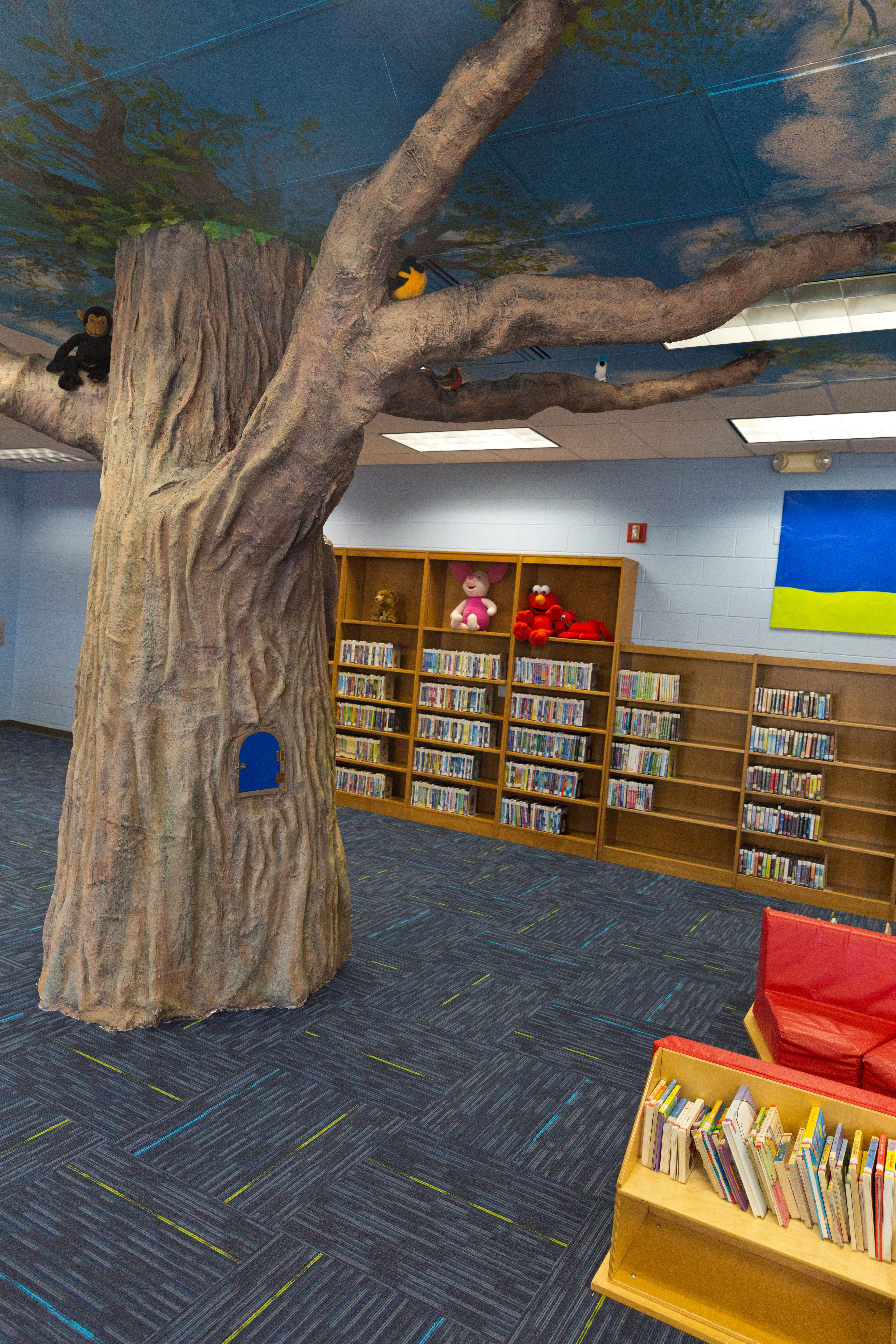 Children's Room of the library