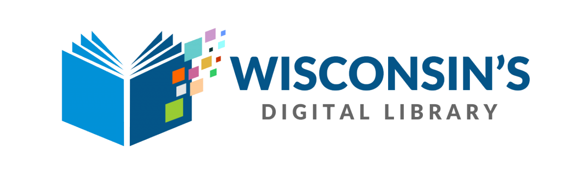 logo and text for Wisconsin's Digital Library